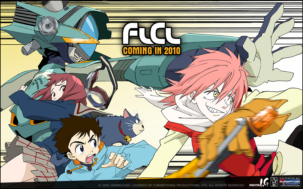 FLCL ON BLURAY! F*CK YEAH!